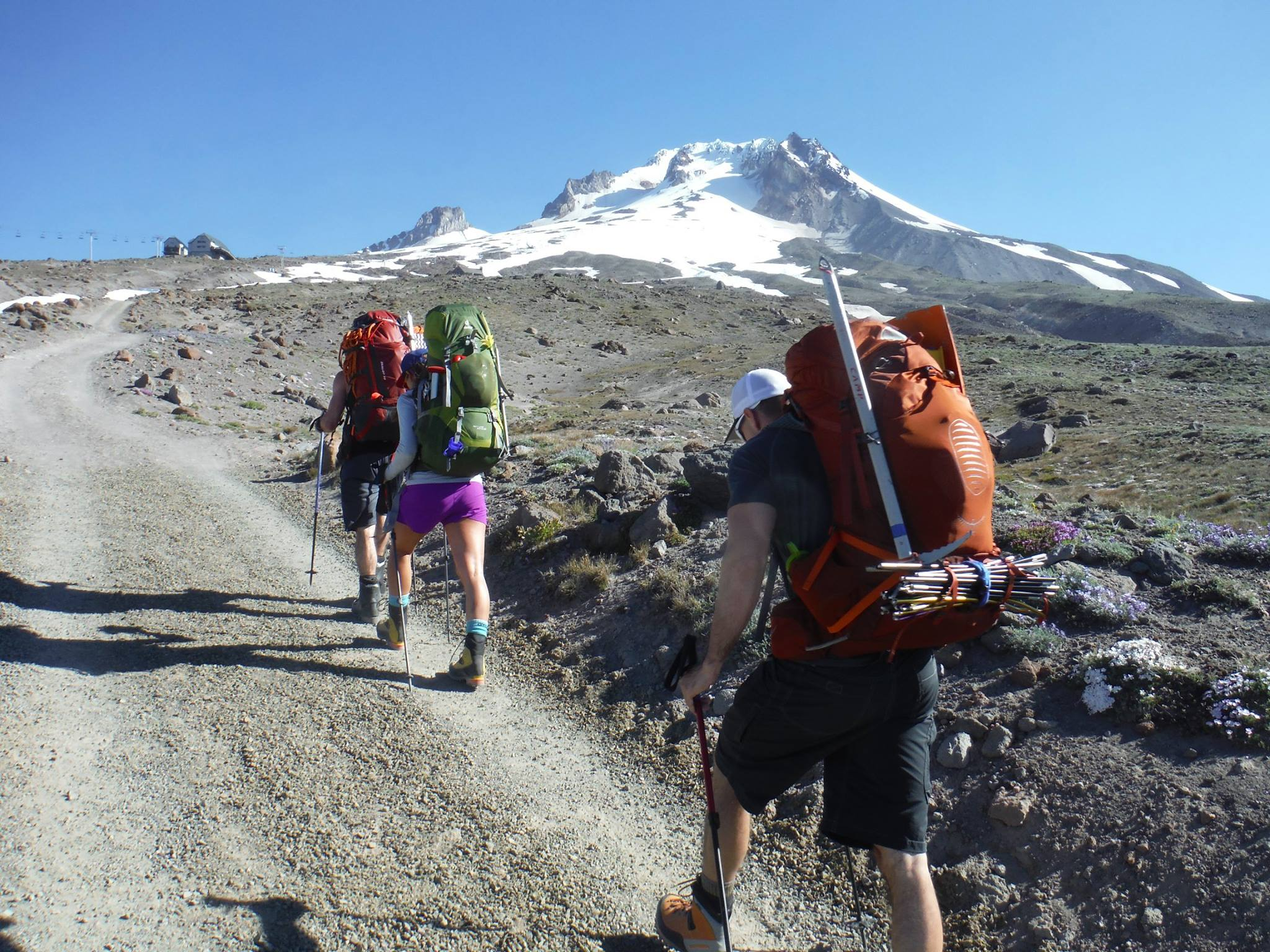 Mt Hood's approach revealed all