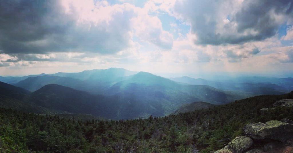 Rays of Light: White Mountains