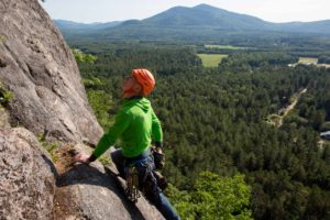 Cathedral Ledge should be on every climber's to-do list.