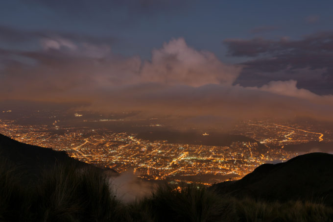 Quito was founded by the Spanish in 1534, on the ruins of an Inca city. Sitting at 9,300ft, Ecuador's capital city is also a UNESCO World Heritage Site