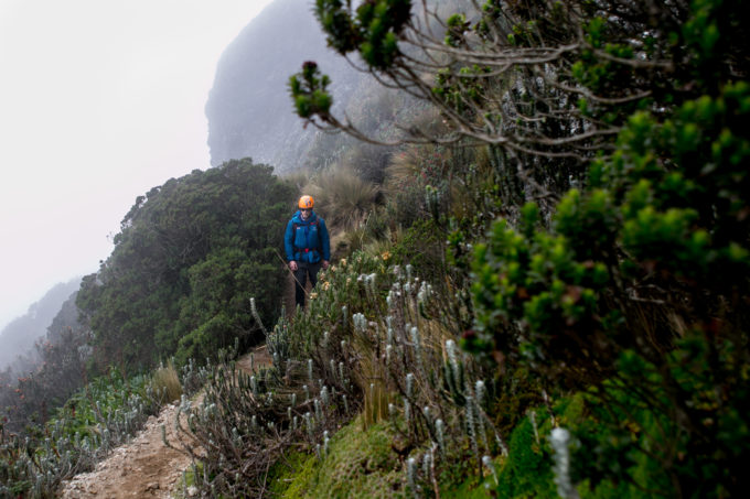We descend the normal route of Rucu Pichincha which is just as spectacular as our ascent but for it's lush vegetation that clings to the mountainside