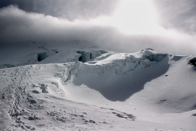 Cayambe is the highest point on the equator, the coldest place on the equator and the only place on the equator with permanent snow