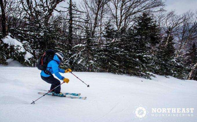 Skiing the Sherburne Trail